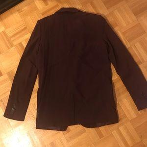 Aritzia Jackets & Coats - Aritzia t babaton maroon blazer size 0